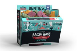 No more bad breath with Montego's New Bags O' Wags Denties