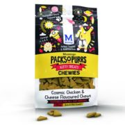 Treat your kitties with Montego's new Packs O' Purrs chewies for cats