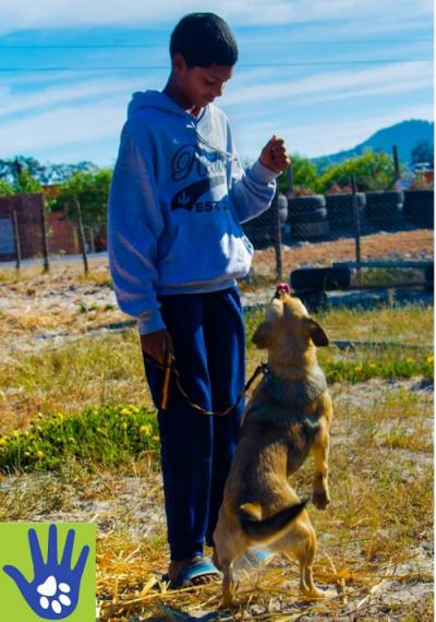 Children in Atlantism - Child with Dog