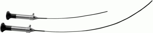 Rhinoscopy - Different length and diameter flexible rhinoscopes