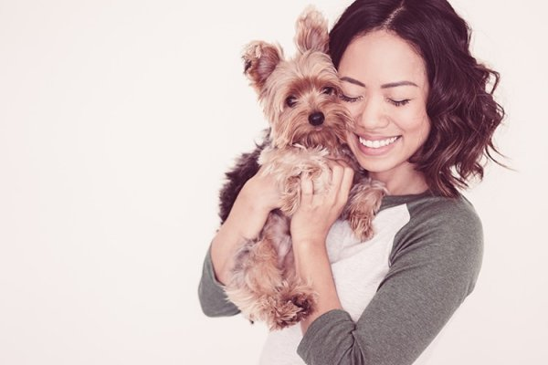 """Study Finds That a Dog's Heart Rate Jumps When You Say """"I Love You"""" To Them"""