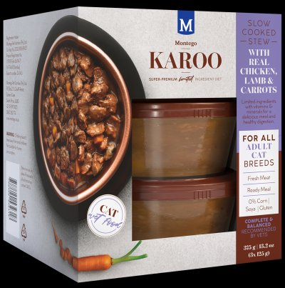 Montego Pet Nutrition's latest Karoo wet food for cats